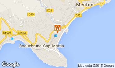 Carte Roquebrune Cap Martin Appartement 56046