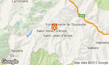 Carte Saint Sorlin d'Arves Chalet 97348