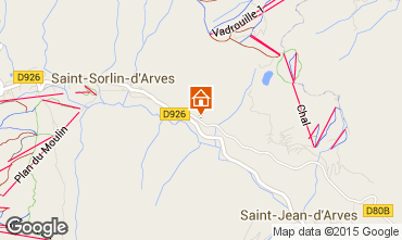 Carte Saint Sorlin d'Arves Chalet 97348