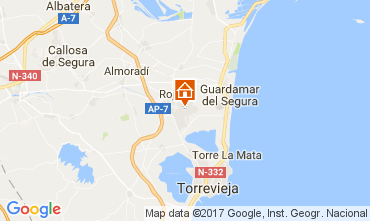 Carte Torrevieja Appartement 109820