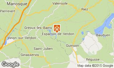 Carte Esparron-de-Verdon Maison 87209
