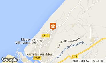 Carte Trouville sur Mer Studio 10805