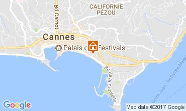 Carte Cannes Appartement 5501