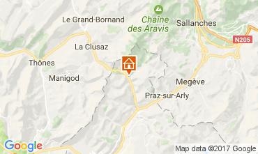 Carte La Giettaz en Aravis Appartement 59369