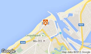 Carte Ostende Appartement 64174