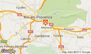 Carte Aix en Provence Villa 96455