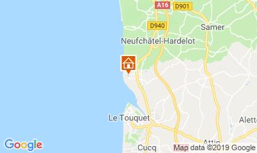 Carte Le Touquet Gite 118198