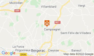 Carte Bergerac Gite 118030