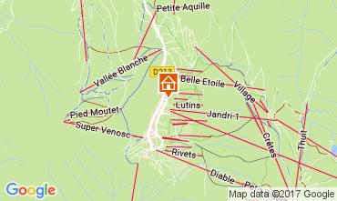Carte Les 2 Alpes Appartement 111845