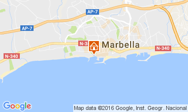 Carte Marbella Appartement 77829