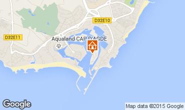 Carte Cap d'Agde Appartement 62924