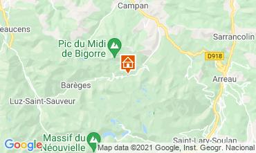 Carte La Mongie Appartement 67265