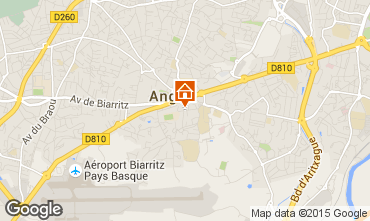 Carte Biarritz Appartement 97208
