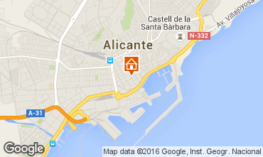 Carte Alicante Appartement 8191