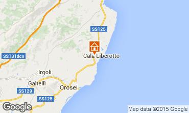 Carte Cala Liberotto Appartement 59779
