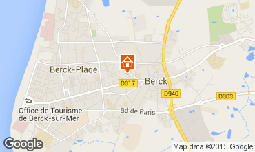 Carte Berck-Plage Appartement 86921