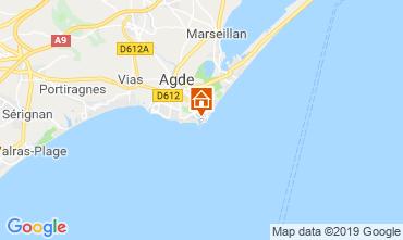 Carte Cap d'Agde Studio 118696