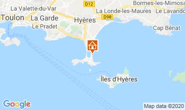 Carte Hyères Studio 5810