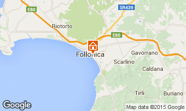 Carte Follonica Appartement 75628