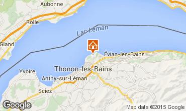 Carte Thonon Les Bains Mobil-home 99142