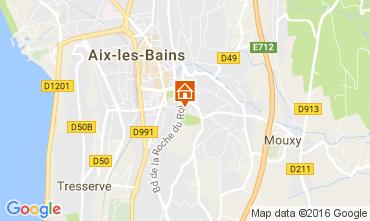 Carte Aix Les Bains Studio 106749