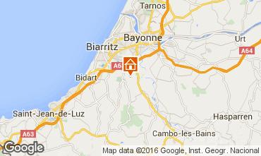 Carte Biarritz Villa 75830