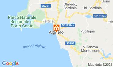 Carte Alghero Appartement 51195