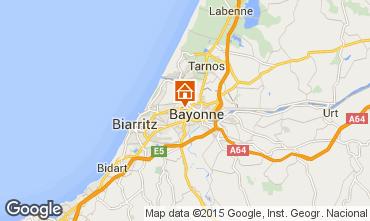 Carte Bayonne Villa 77681