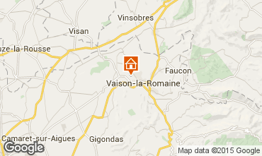 Carte Vaison la Romaine Gite 81749