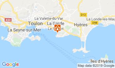 Carte Le Pradet Appartement 119187