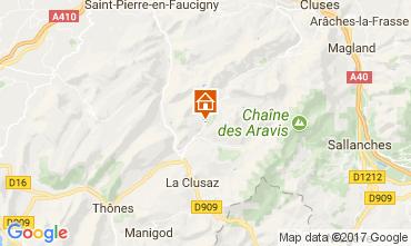 Carte Le Grand Bornand Maison 112028