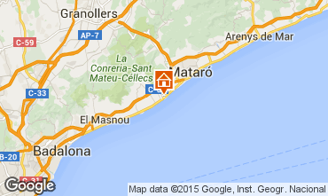 Carte Barcelone Appartement 80136