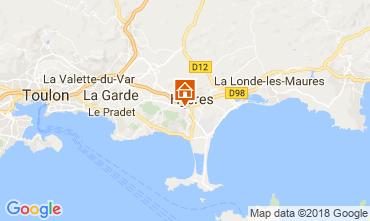 Carte Hyères Villa 113023
