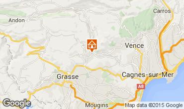 Carte Cannes Villa 92568