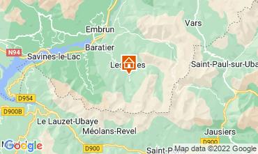 Carte Les Orres Chalet 65856