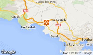 Carte Saint Cyr sur Mer Appartement 78331