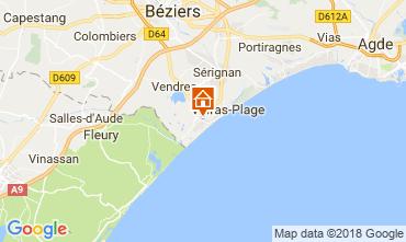 Carte Valras-Plage Villa 114999