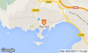 Carte Bandol Appartement 54516