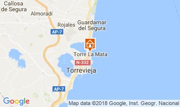 Carte Torrevieja Appartement 113085