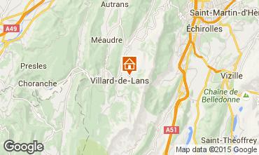 Carte Villard de Lans - Corrençon en Vercors Chalet 3640