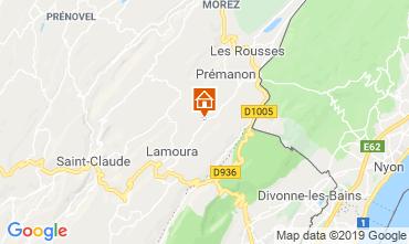 Carte Les Rousses Chalet 89314