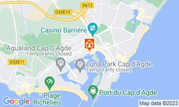 Carte Cap d'Agde Appartement 112300