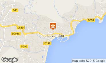 Carte Le Lavandou Villa 89455