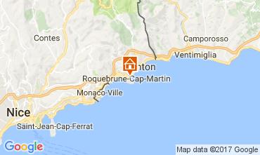 Carte Roquebrune Cap Martin Appartement 110242
