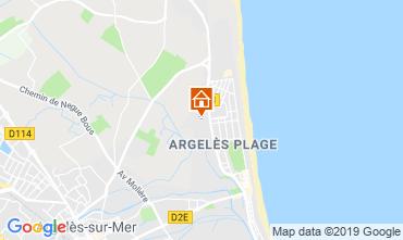 Carte Argeles sur Mer Appartement 118436