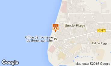 Carte Berck-Plage Appartement 100247