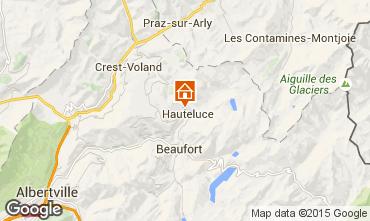 Carte Hauteluce Chalet 68480