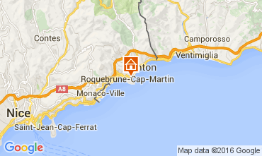 Carte Roquebrune Cap Martin Appartement 104967