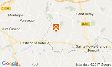 Carte Bergerac Gite 111984
