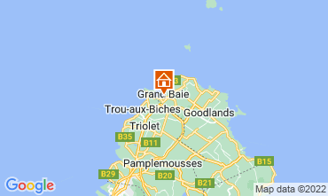 Carte Grand Baie Villa 76883